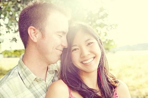 Nisqually Engagement Portrait