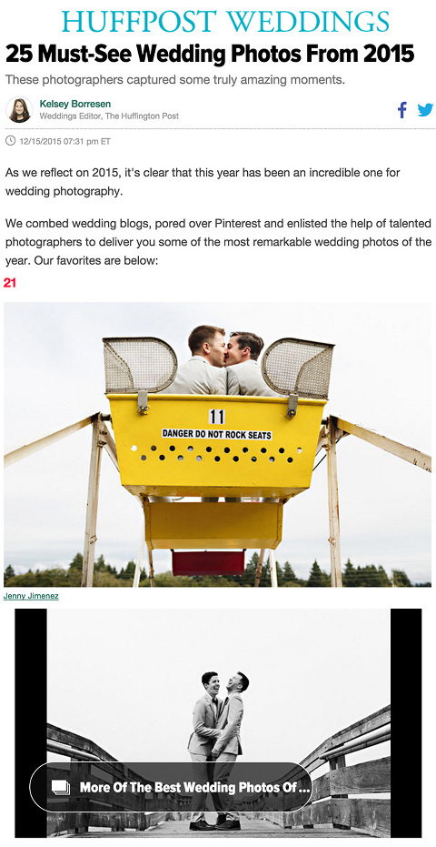 Best Wedding Photos of the Year