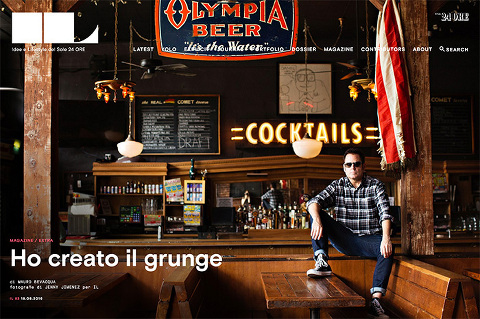 Il Magazine Grunge issue